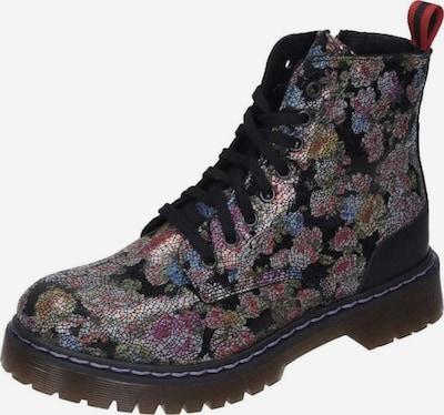 MANITU Stiefelette in hellblau / mischfarben / pink / schwarz, Produktansicht