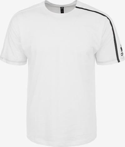 ADIDAS PERFORMANCE T-Shirt fonctionnel 'Z.N.E.' en blanc: Vue de face