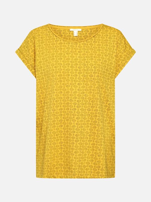 Tee' D'or T Jaune shirt Aw En 'pattern Esprit qCROfxFwOS