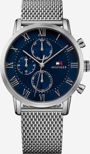 TOMMY HILFIGER Multifunktionsuhr 'Sophisticated Sport, 1791398' in navy / silber, Produktansicht