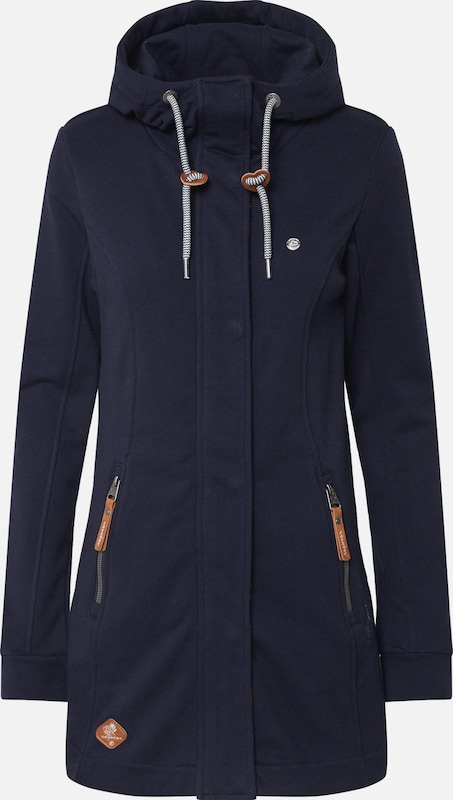 Ragwear Sweatjacke 'LETTY' in navy, Produktansicht
