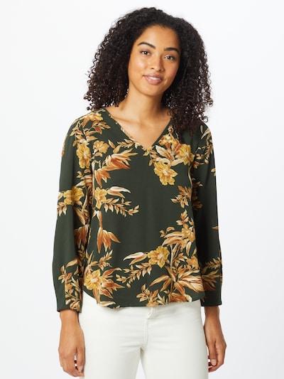 ONLY Bluse 'Vic' in oliv / mischfarben, Modelansicht