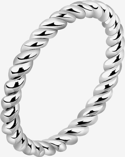 Nenalina Ring 'Twisted' in silber, Produktansicht