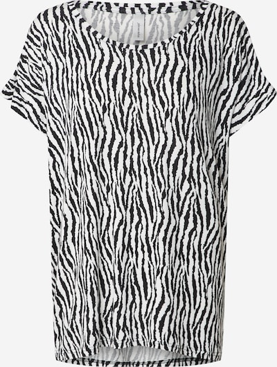 Soyaconcept Shirt in de kleur Zwart / Offwhite, Productweergave