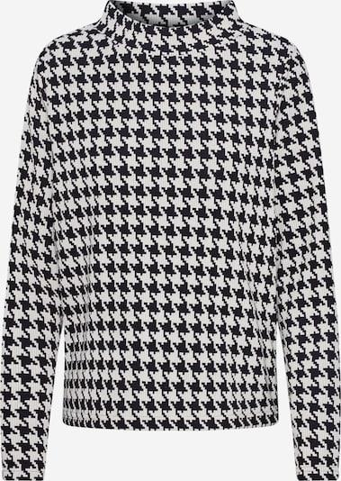 MORE & MORE Sweatshirt in schwarz / naturweiß, Produktansicht