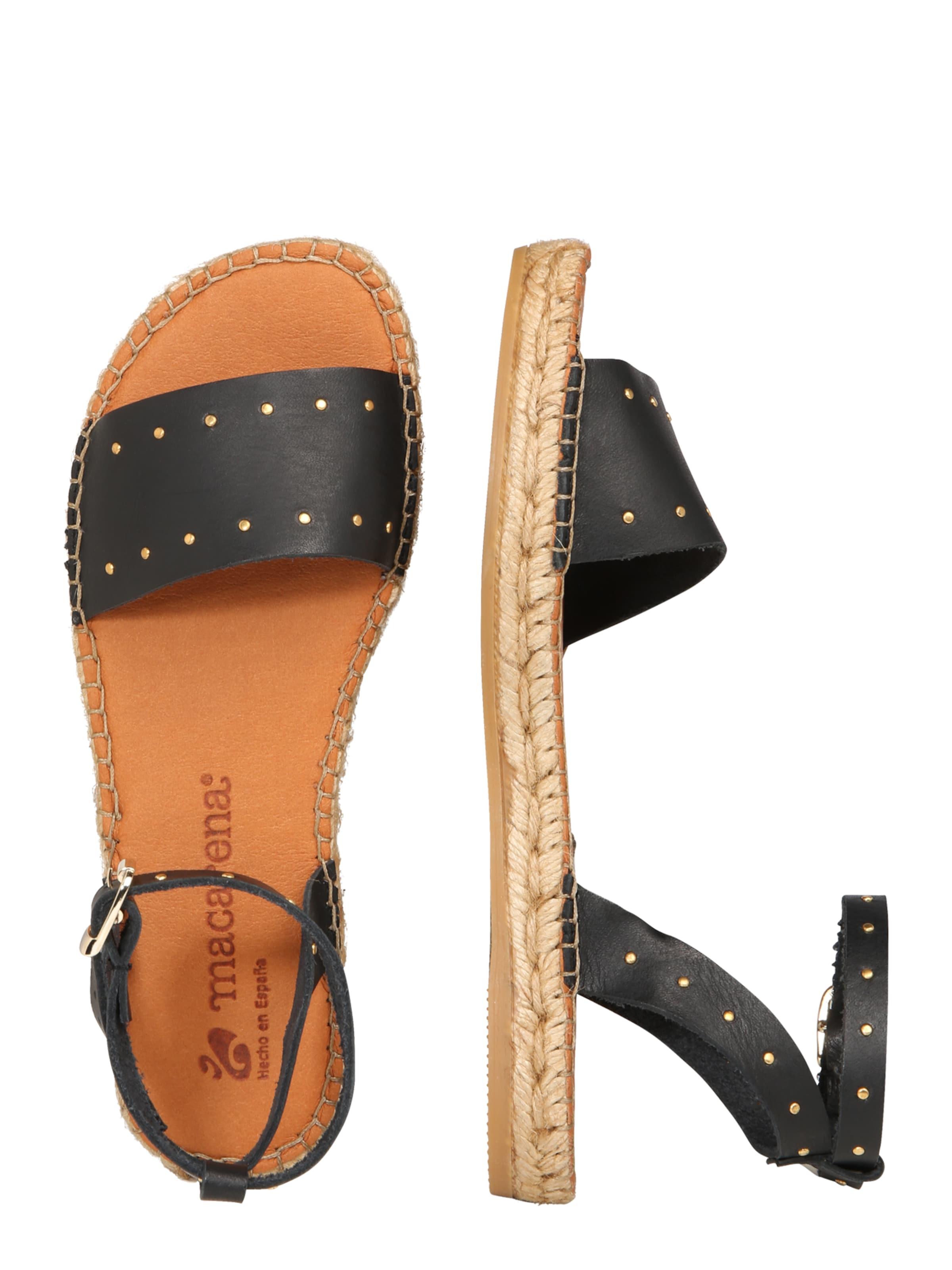 Sandale 16' 'nika Macarena In Schwarz OiuPkXZT
