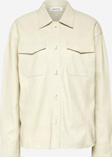 EDITED Ledershirt 'Jemie' in beige, Produktansicht
