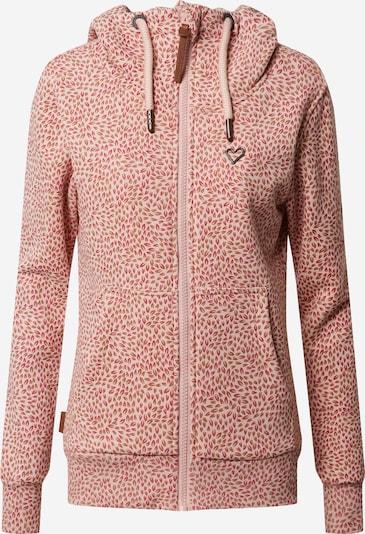 Alife and Kickin Bluza rozpinana 'Yasmin' w kolorze różowy pudrowym, Podgląd produktu