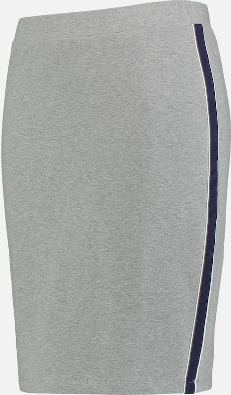 SAMOON Rock in navy   graumeliert   weiß  Markenkleidung für Männer und Frauen