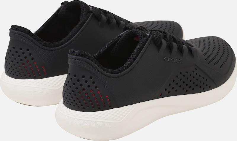 Noir En 'literidepacer' Baskets Basses Crocs trQhdsC