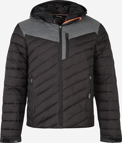ICEPEAK Funktionsjacke 'Leal' in grau / schwarz, Produktansicht