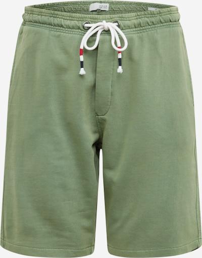 !Solid Kalhoty 'Ron' - zelená: Pohled zepředu