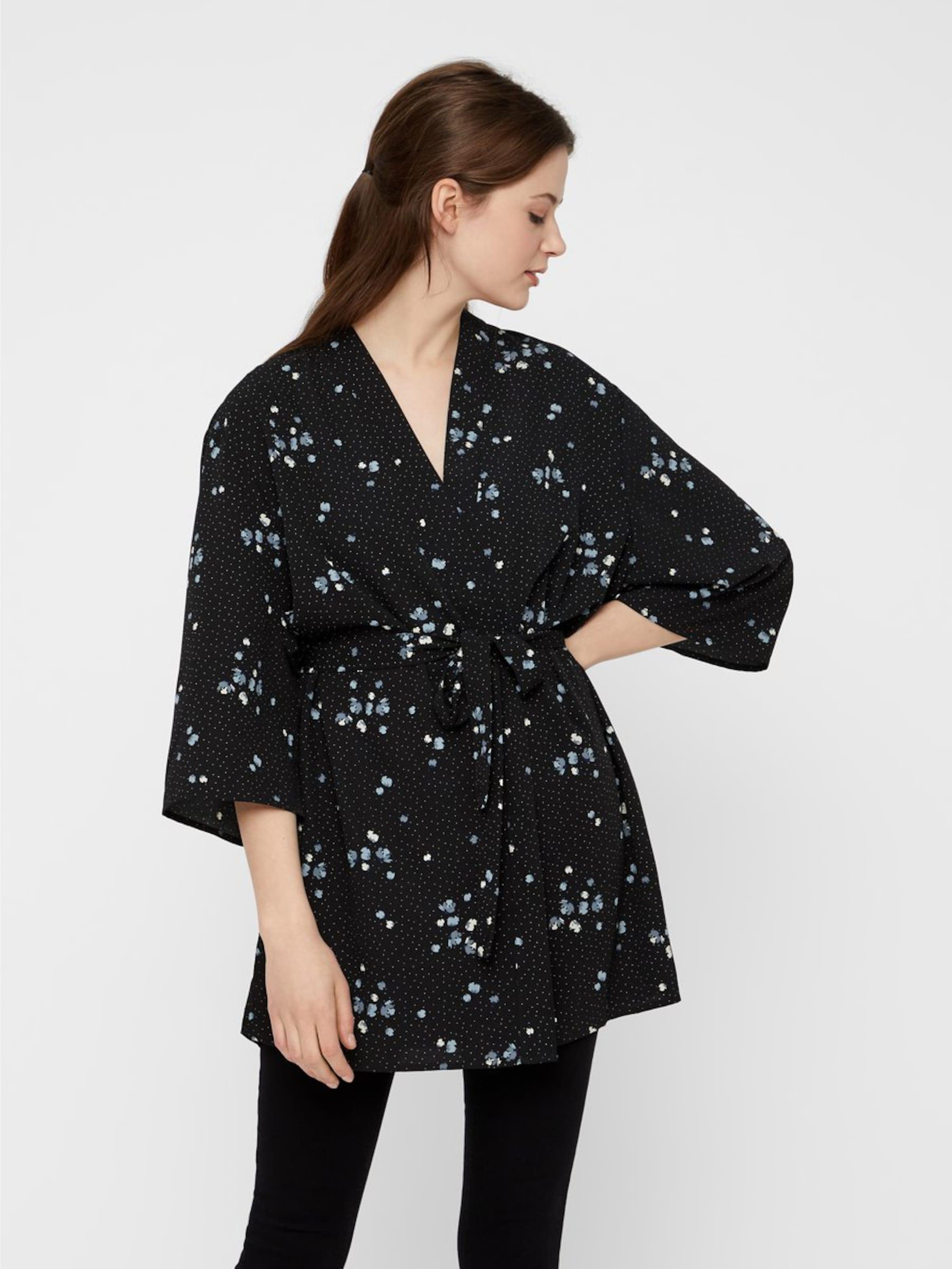 Pieces Kimono En En Noir Kimono Pieces yv7gYbf6