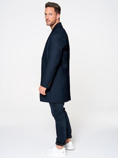 ABOUT YOU x Magic Fox Prechodný kabát 'Victor' - modrá: Pohľad zo strany