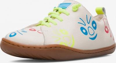 CAMPER Sneaker 'Twins' in creme / cyanblau / neongelb / knallrot, Produktansicht