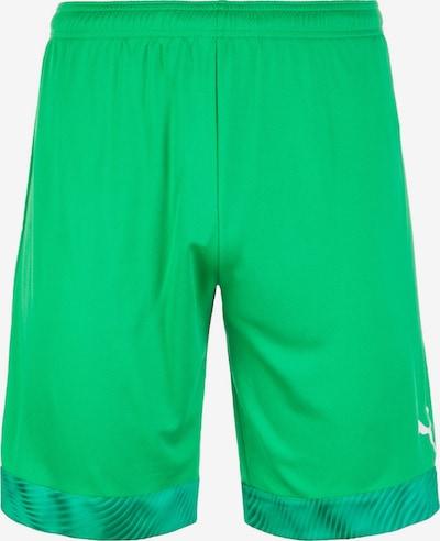 PUMA Pantalon de sport en vert, Vue avec produit
