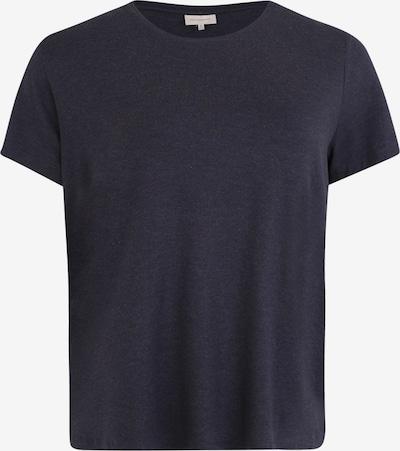 ONLY Carmakoma T-shirt en bleu nuit, Vue avec produit