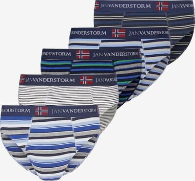 Jan Vanderstorm Slip 'Fordel' in de kleur Nachtblauw / Grijs / Gemengde kleuren, Productweergave