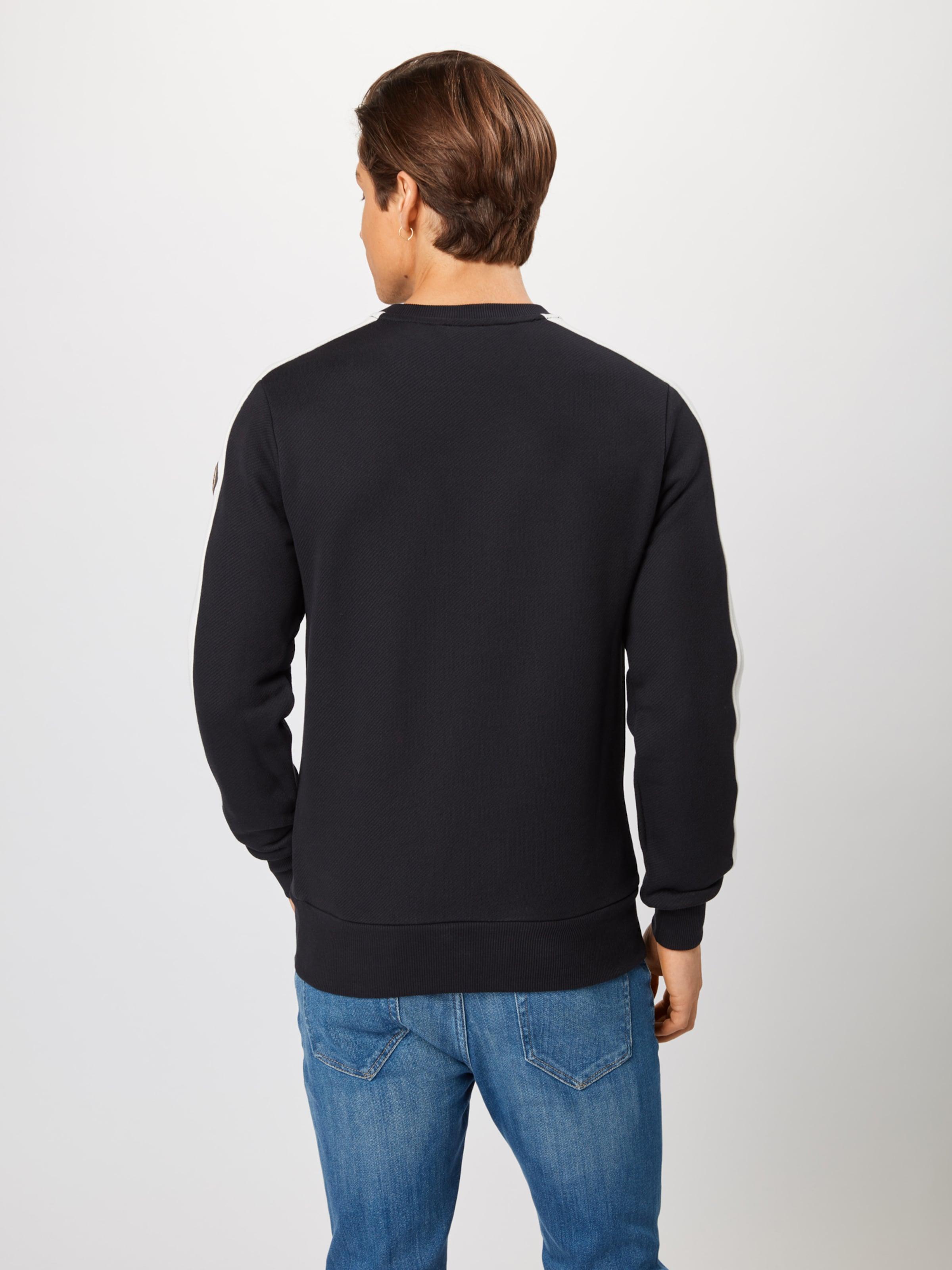 In Colmar Sweatshirt Sweatshirt SchwarzWeiß 'shabby' Colmar 'shabby' AjL534R