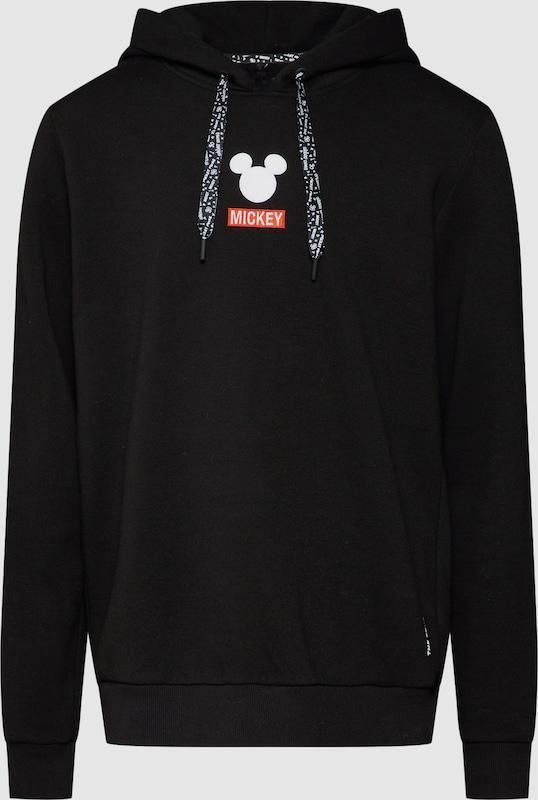 Disney x  Hoddie 'Carlo' in schwarz  Neuer Aktionsrabatt