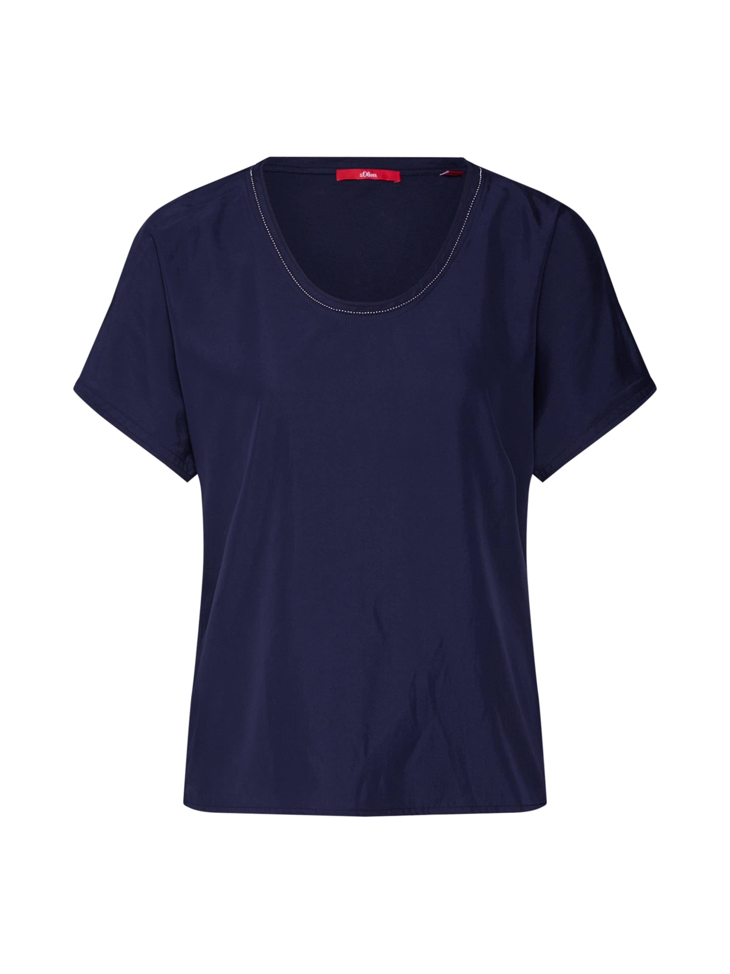 Red shirt Label Bleu oliver T S Marine En XOTikuPZ