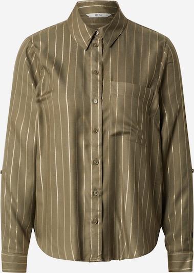 ONLY Bluza 'ONLNATALI L/S SHIRT WVN' | oliva barva, Prikaz izdelka