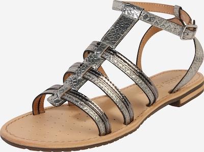 GEOX Sandale 'D SOZY' in silber, Produktansicht