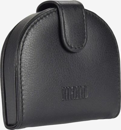 mano Geldbörse 'Medio' in schwarz, Produktansicht