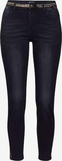 Desigual Jeans 'Denim Touché' in de kleur Goud / Black denim, Productweergave