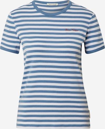 Marc O'Polo T-Shirt in hellblau / weiß, Produktansicht
