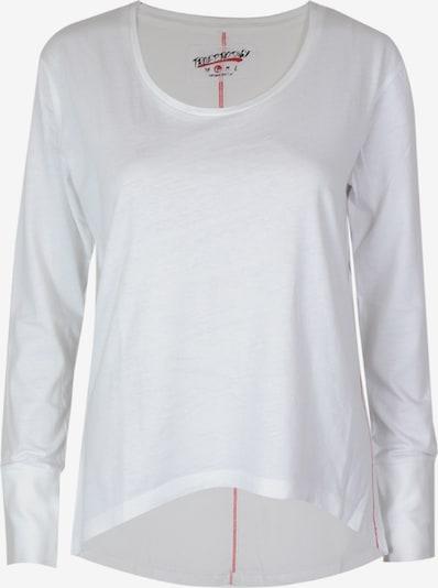 trueprodigy Langarmshirt in weiß, Produktansicht