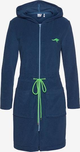 KangaROOS Damenbademantel »Kira« in blau, Produktansicht