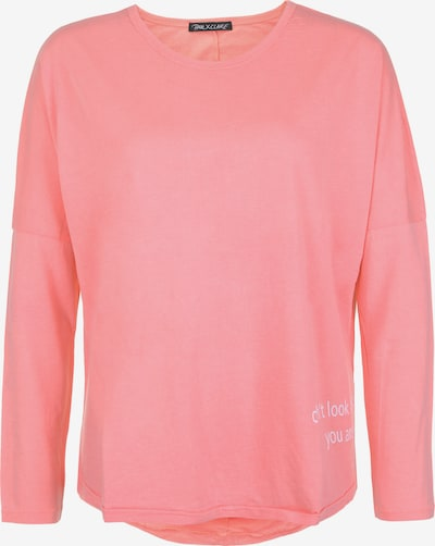 PAUL X CLAIRE Oversized shirt 'DON'T LOOK BACK' in de kleur Pink, Productweergave