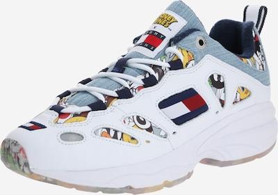 Tommy Jeans Baskets basses en mélange de couleurs / blanc, Vue avec produit