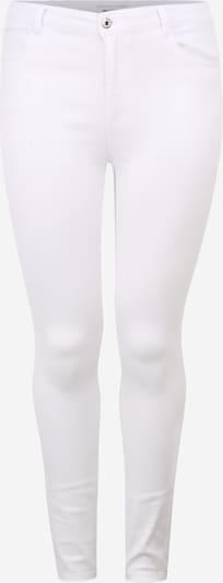 Jeans 'CarAugusta' ONLY Carmakoma pe alb, Vizualizare produs