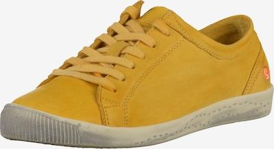 Softinos Baskets basses en jaune, Vue avec produit