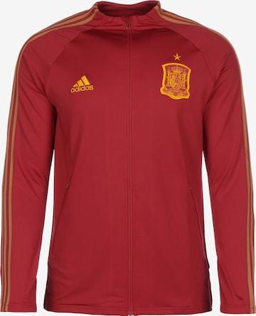 Veste de sport 'FEF Spanien EM 2020' ADIDAS PERFORMANCE en rouge