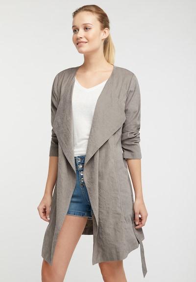 DREIMASTER Mantel in schlammfarben, Modelansicht