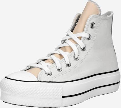 CONVERSE Baskets hautes 'CHUCK TAYLOR ALL STAR LIFT' en gris clair / blanc, Vue avec produit
