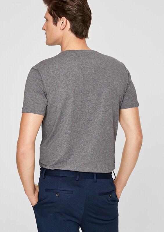 s.Oliver BLACK LABEL Komfortables Stretch-Shirt