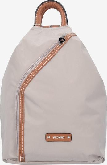 Picard 'Sonja' Rucksack 31 cm in beige / perlweiß, Produktansicht
