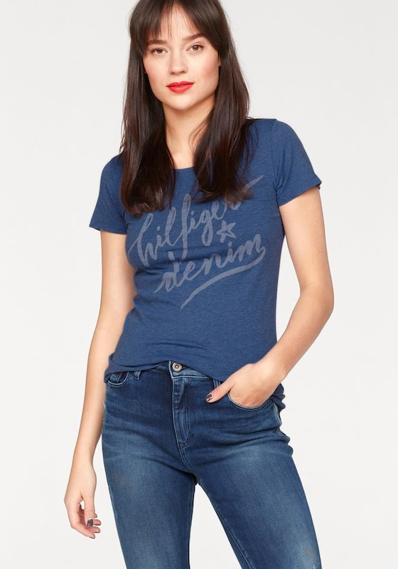 Tommy Jeans Logo-Shirt aus Bio-Cotton