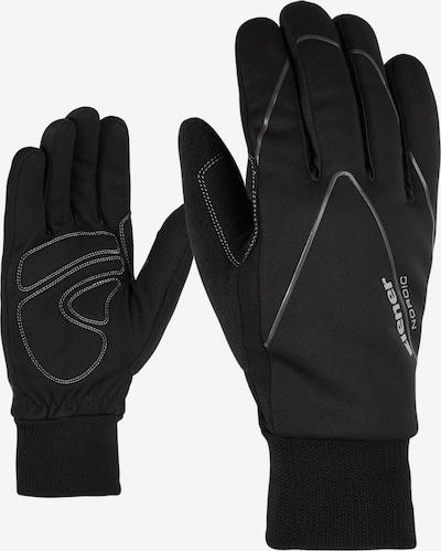 ZIENER Handschuhe 'Unico' in schwarz, Produktansicht