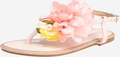Hailys Séparateur d'orteils en jaune / rose, Vue avec produit