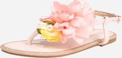 Hailys Sandale in gelb / rosa, Produktansicht