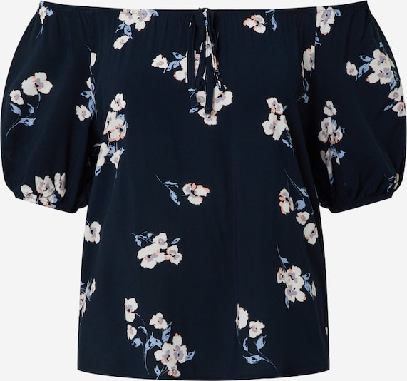 b.young Bluse in navy, Produktansicht
