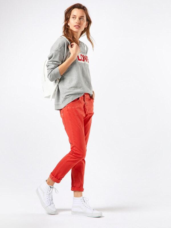 PLEASE 'Boyfriend' Hose in Jeans-Optik