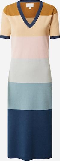 NÜMPH Sukienka 'BLAISE' w kolorze niebieski / brązowy / różowy pudrowym, Podgląd produktu
