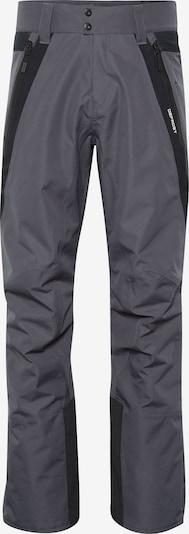 sötétszürke / fekete CHIEMSEE Kültéri nadrágok, Termék nézet