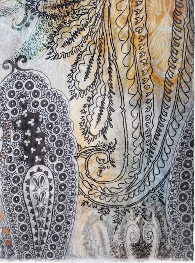 APART Schal mit Paisley Druck in beige / hellblau, Produktansicht